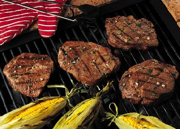 Grilled Lime-Cilantro Chuck Steaks can't be beat